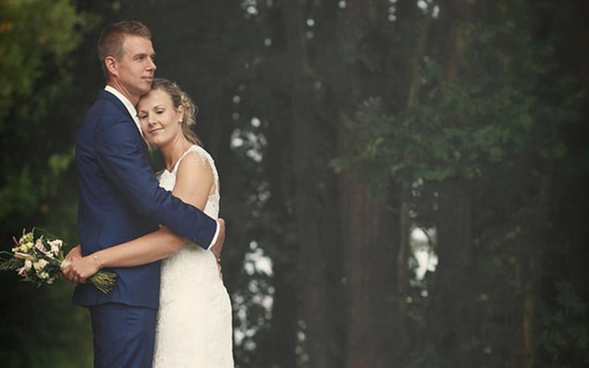 Elegancki prezent na ślub - drzewko 1
