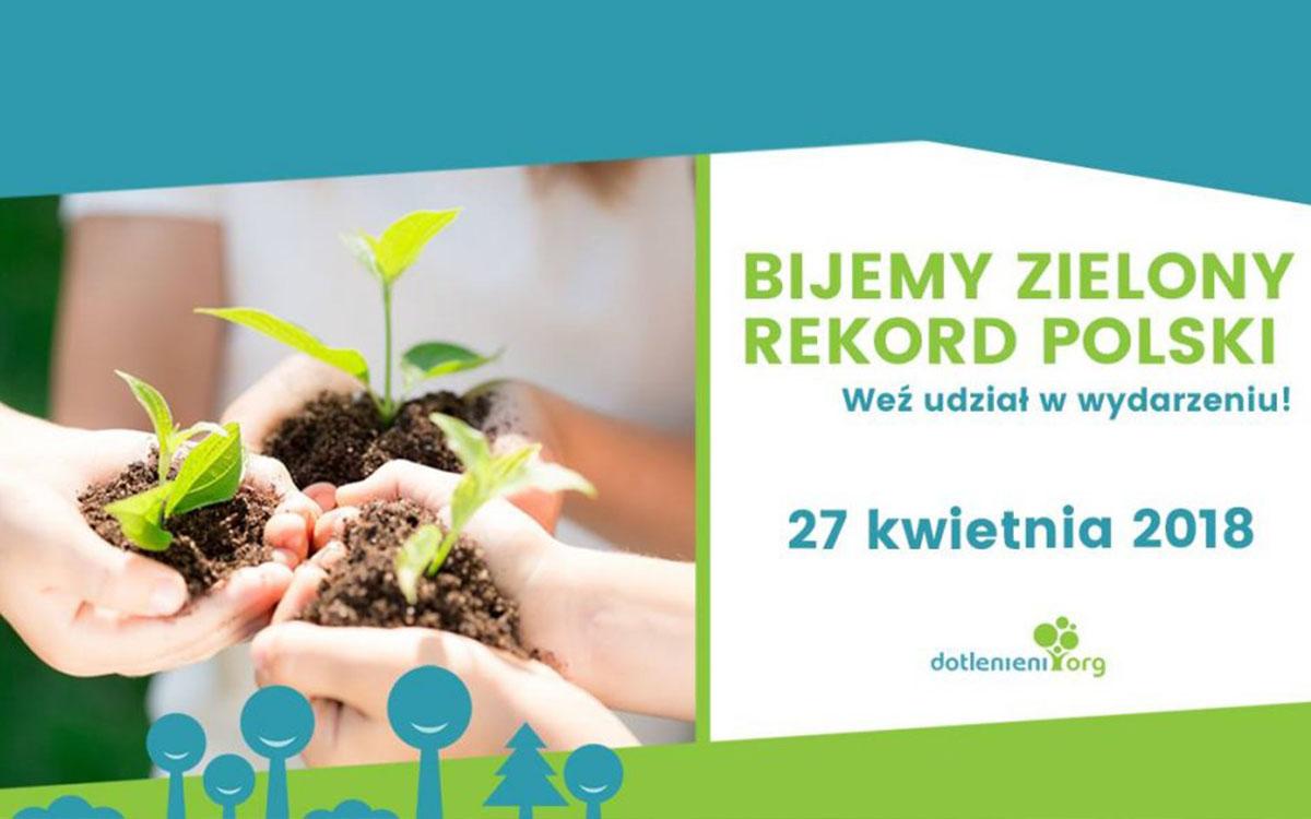 PodarujDrzewko.pl i Zielony Rekord Polski 1